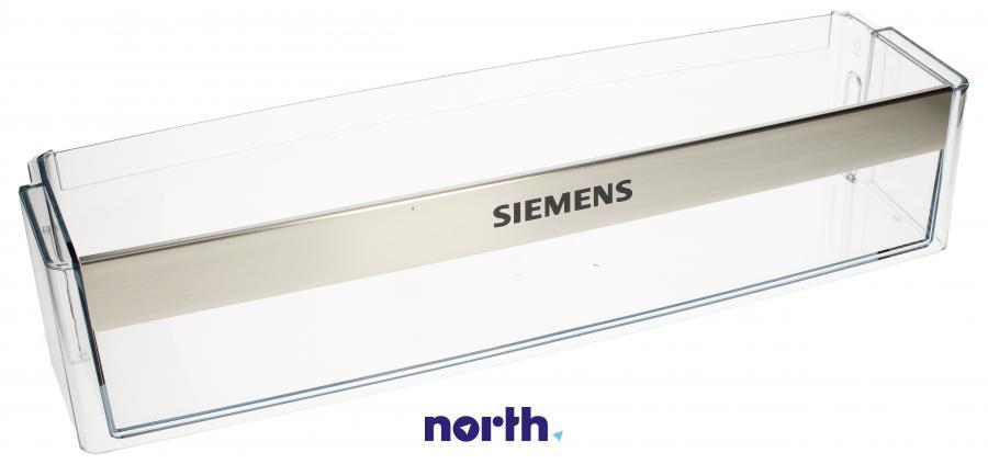 Dolna półka na drzwi chłodziarki do lodówki Siemens 00705516,0