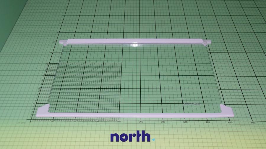 Półka szklana z ramkami do komory chłodziarki do lodówki Amica 1021865,0