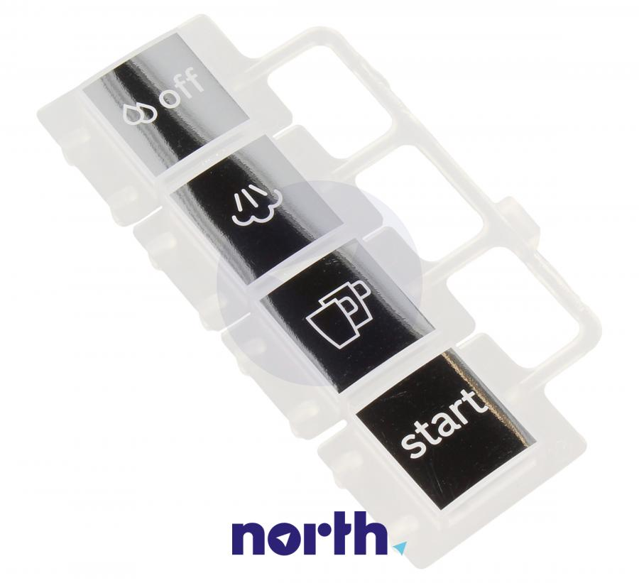 Przyciski wyświetlacza do ekspresu Bosch 00623821,0