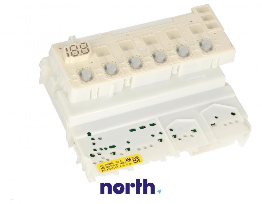 Moduł sterujący zaprogramowany do zmywarki Bosch 00655545,0