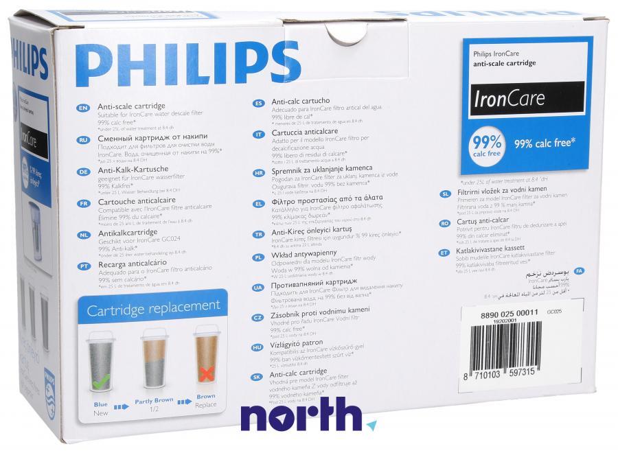 Wkład antywapienny do żelazka Philips GC025/00,1