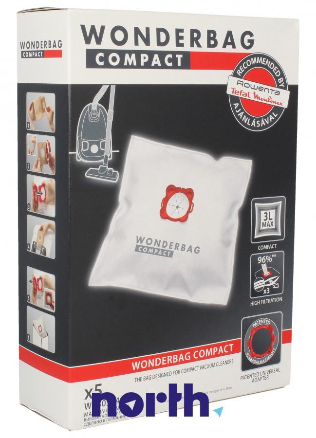 Worki Wonderbag Compact WB305140 do odkurzacza Rowenta,0