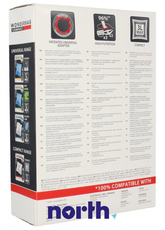 Worki Wonderbag Compact WB305140 do odkurzacza Rowenta,1