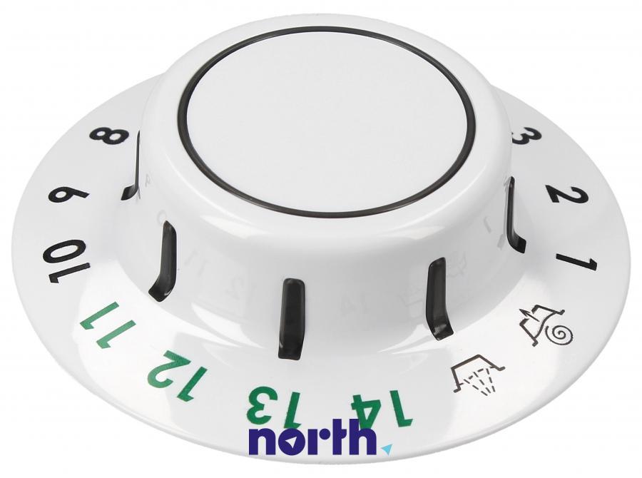 Pierścień pokrętła programatora do pralki Hotpoint Ariston 482000032124,0