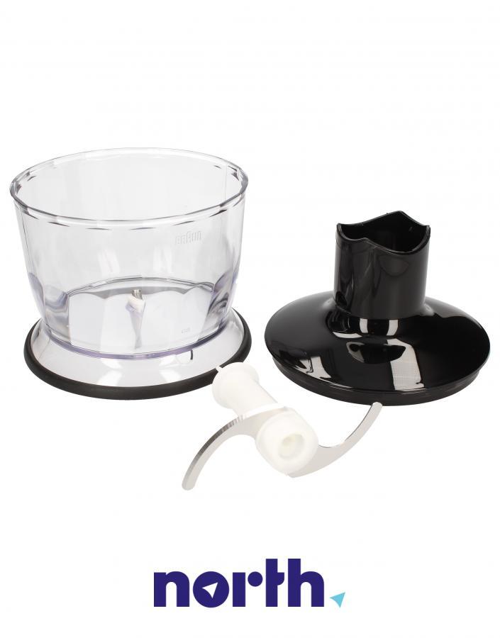 Rozdrabniacz kompletny 500ml do blendera ręcznego Braun MQ30 0X81364498,1