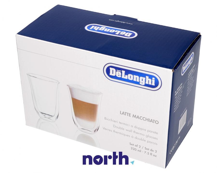 Szklanki do kawy Latte Macchiato do ekspresu Nespresso 5513214611,2
