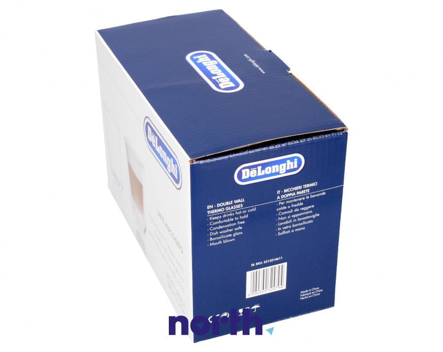 Szklanki do kawy Latte Macchiato do ekspresu Nespresso 5513214611,3