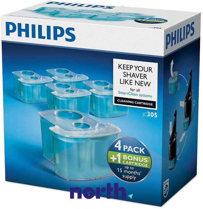 JC30550 Wkłady czyszczące do golarki Philips 5szt.,0