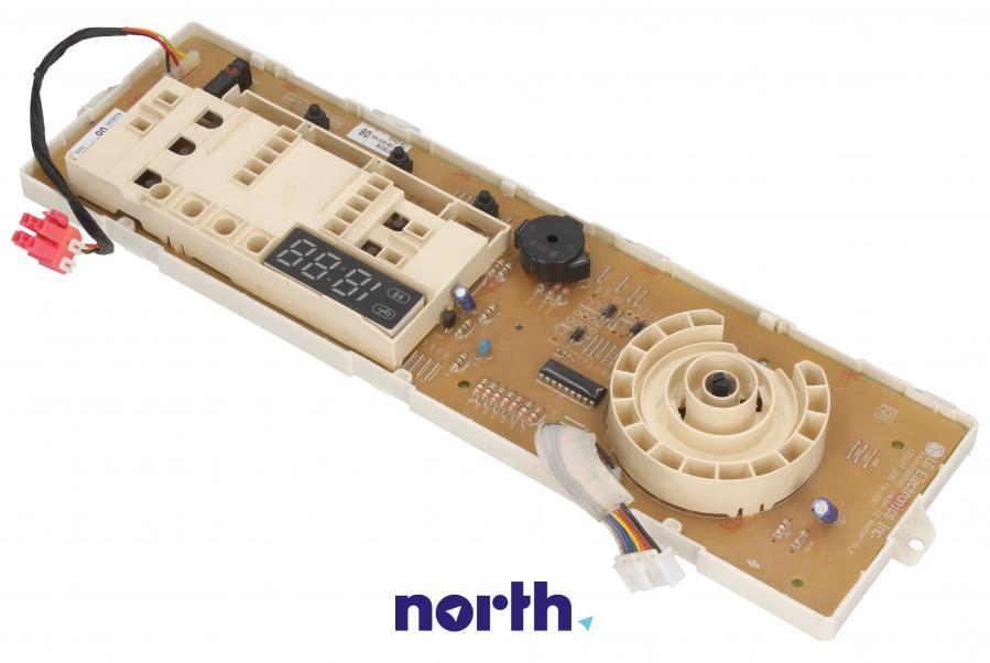 Moduł obsługi panelu sterowania z wyświetlaczem do pralki LG EBR73933808,0