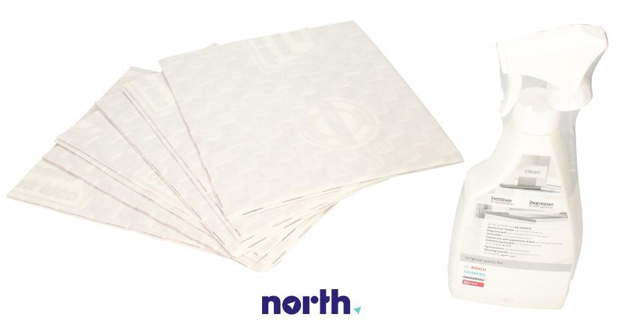 Filtr przeciwtłuszczowy flizelinowy + odtłuszczacz do okapu BOSCH/SIEMENS 00576337,0