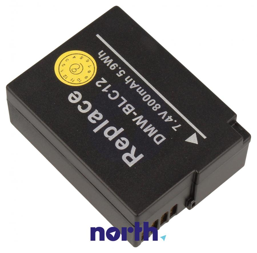 Akumulator do aparatu fotograficznego Panasonic DIGCA74060,1