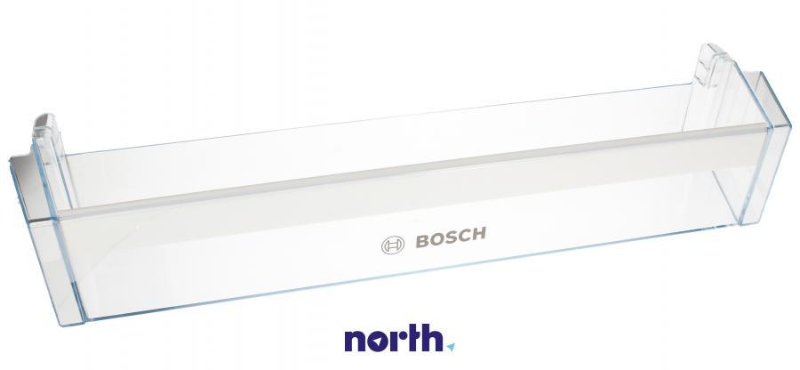 Dolna półka na drzwi chłodziarki do lodówki Bosch 12003601,0
