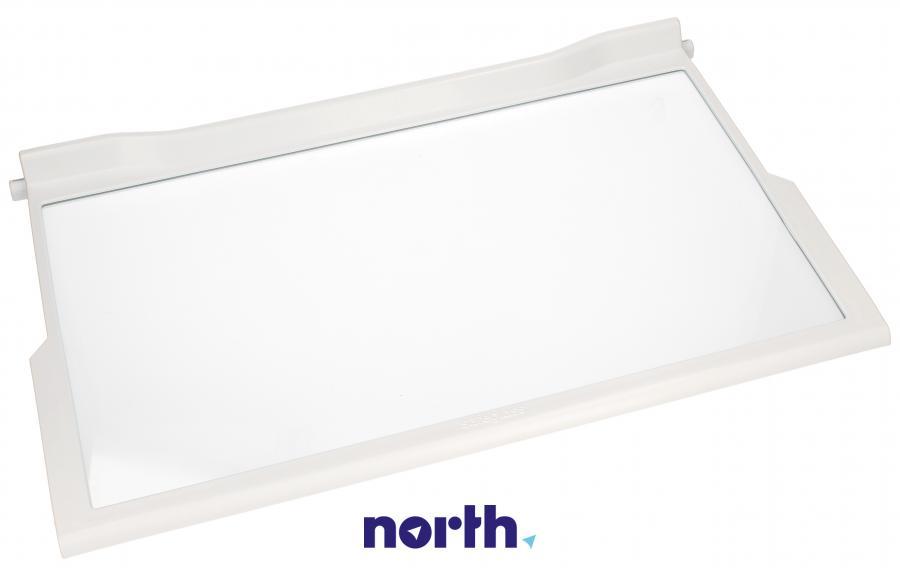 Półka szklana z ramkami do komory chłodziarki do lodówki Whirlpool 481010643010,0