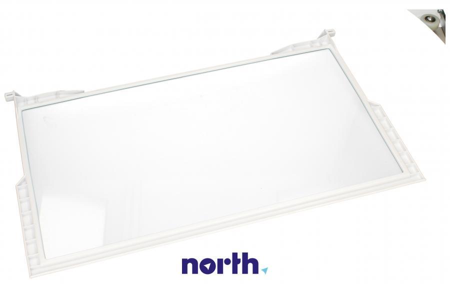 Półka szklana z ramkami do komory chłodziarki do lodówki Whirlpool 481010643010,1