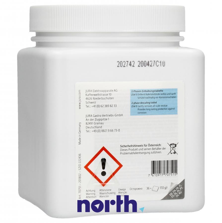 Tabletki odkamieniające do ekspresu Jura 70751,1