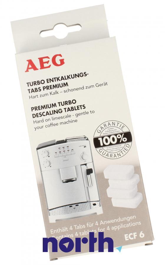 Tabletki odkamieniające do ekspresu AEG ECF6 9001672972,0