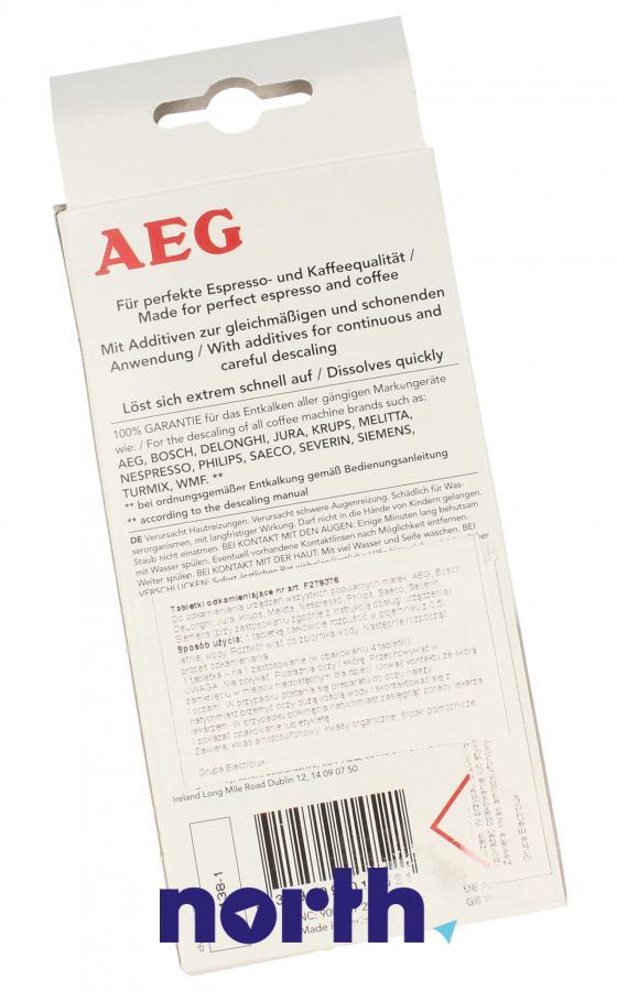 Tabletki odkamieniające do ekspresu AEG ECF6 9001672972,1
