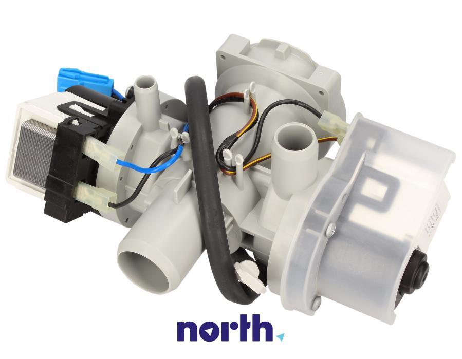 Pompa odpływowa kompletna (silnik + obudowa) do pralki LG,1