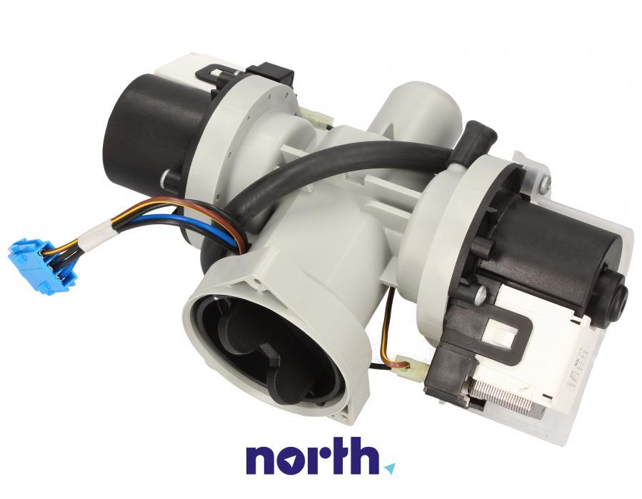 Pompa odpływowa kompletna (silnik + obudowa) do pralki LG,2