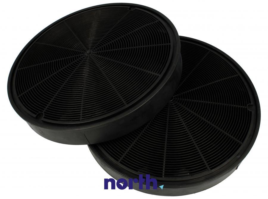 Filtr węglowy w obudowie okrągły do okapu AEG T230,0