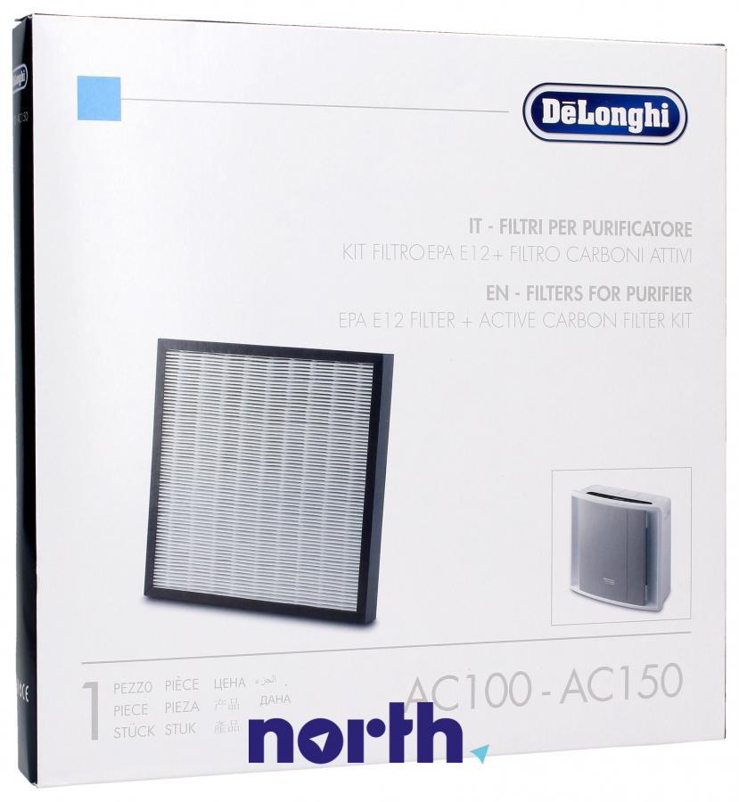 Filtr HEPA zintegrowany z filtrem węglowym do oczyszczacza powietrza DeLonghi AC100 5513710011,0