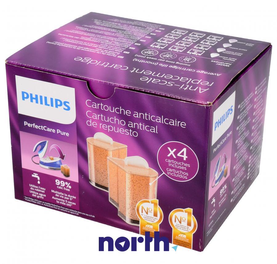 Wkłady antywapienne 4 szt. do żelazka Philips GC004/00,0