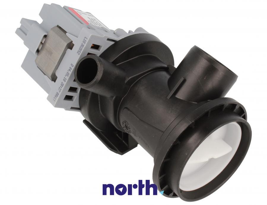 Pompa odpływowa kompletna (silnik + obudowa) do pralki Indesit 482000023447,1