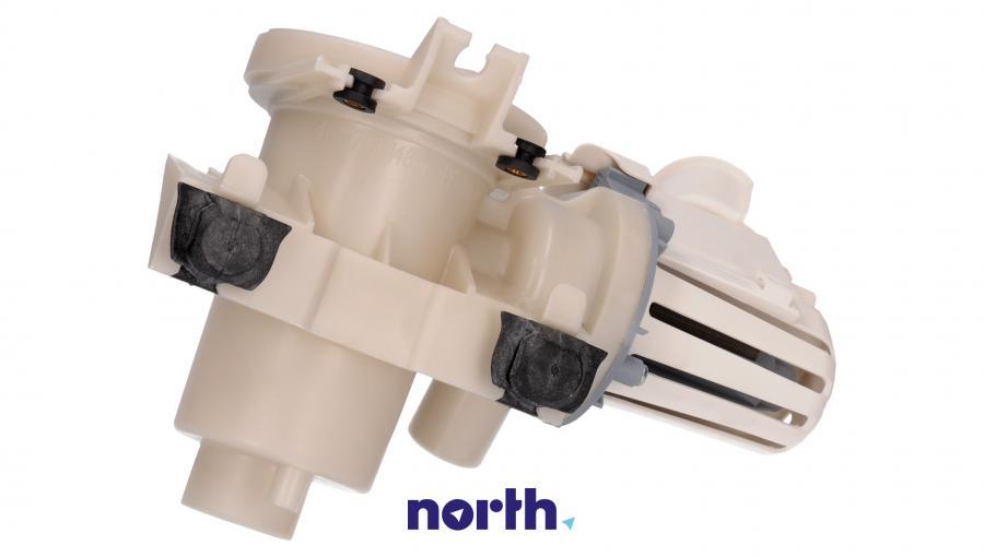 Pompa odpływowa kompletna (silnik + obudowa) do pralki Whirlpool 484000001051,1