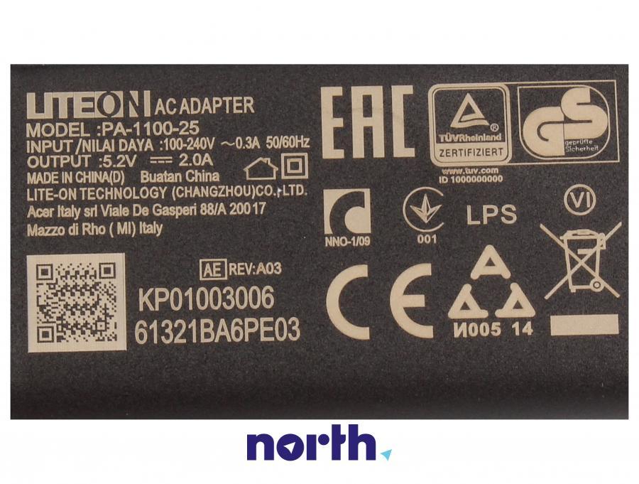 Ładowarka USB do tabletu Acer PA-1100-25 KP.0100H.002,3