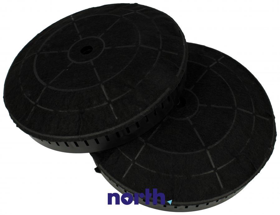 Filtr węglowy w obudowie okrągły do okapu Whirlpool CFC0038668,0
