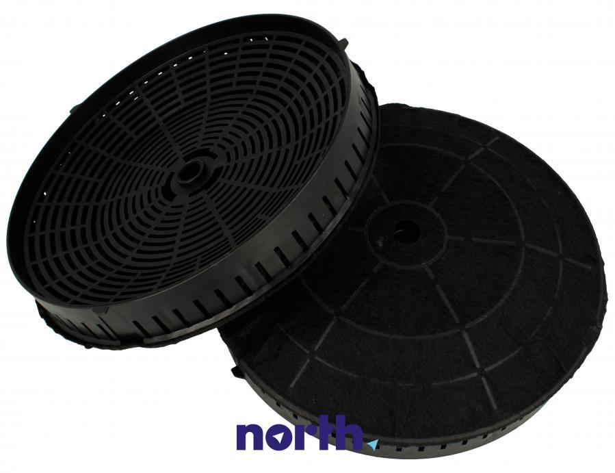 Filtr węglowy w obudowie okrągły do okapu Whirlpool CFC0038668,1