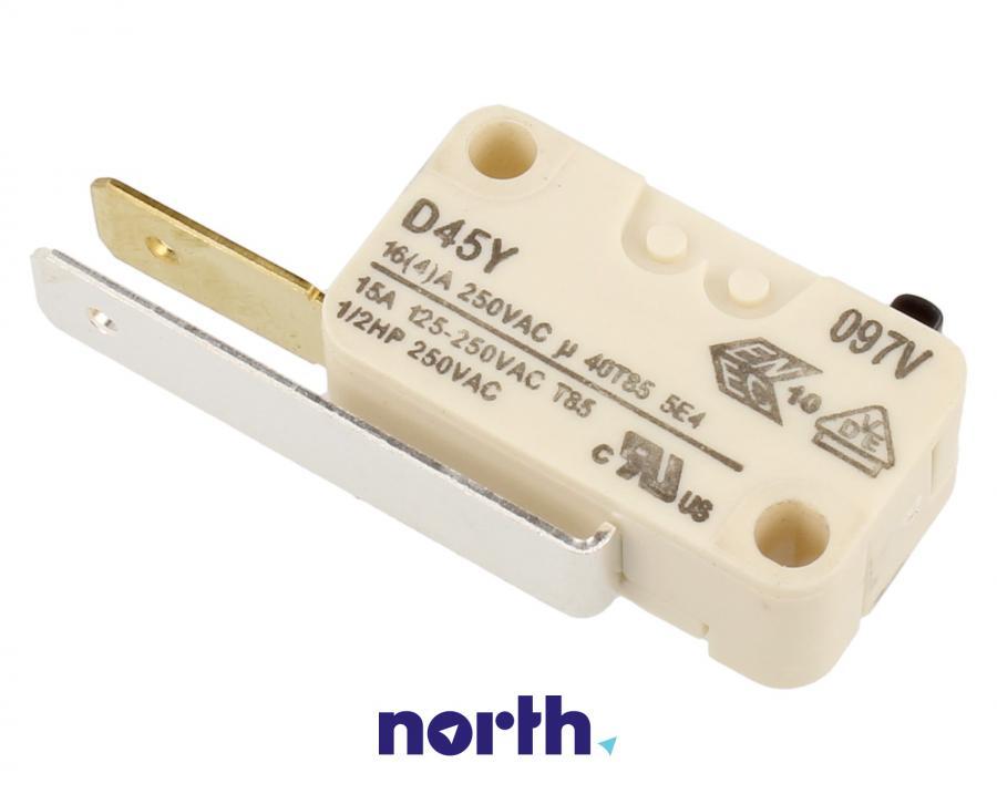 Przełącznik blokady drzwi do zmywarki Beko 1731980300,0