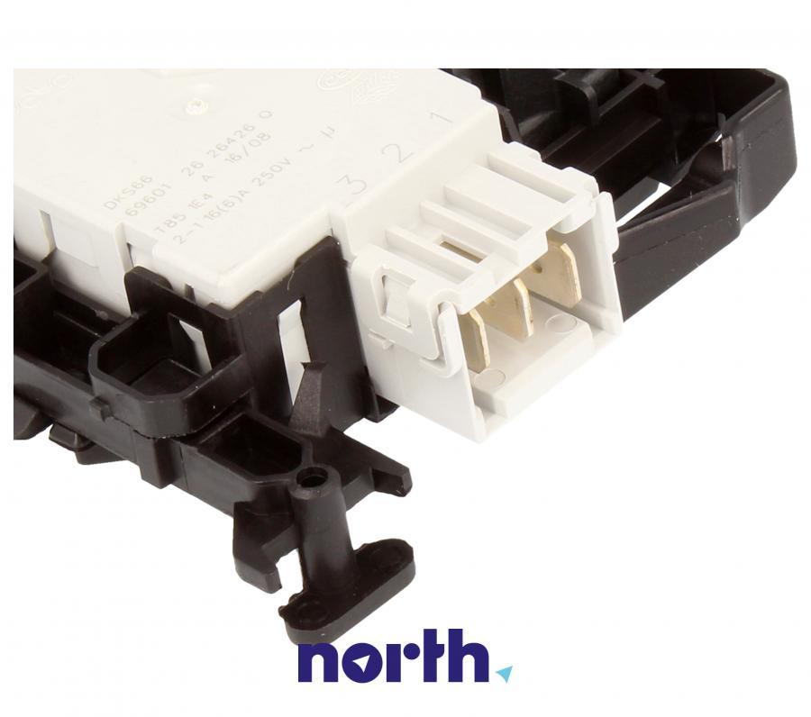 Blokada elektromagnetyczna otwarcia drzwi do pralki Whirlpool 481010602648,3