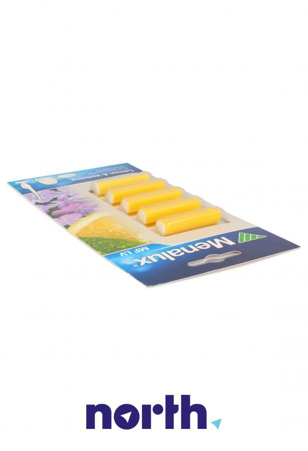 Wkład zapachowy cytryna i werbena 5szt. Menalux MFLV do odkurzacza,2