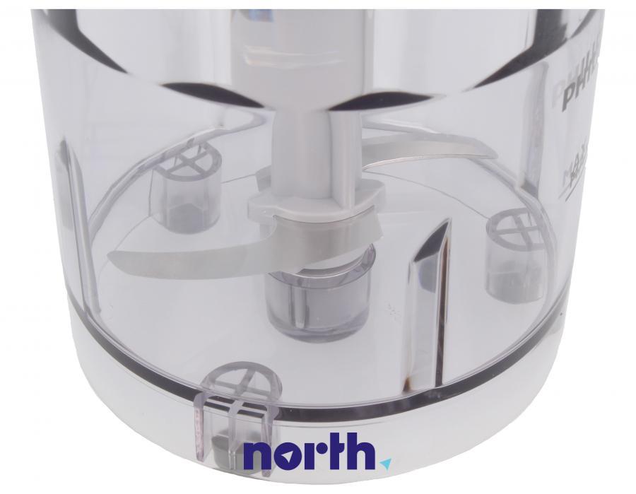 Rozdrabniacz kompletny 300ml  do blendera ręcznego Philips HR1963 420303608241,2