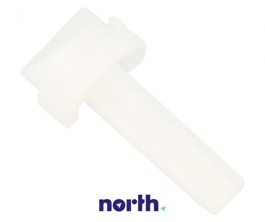 Element plastikowy górnego prawego zawiasu do lodówki Beko 4862700400,1