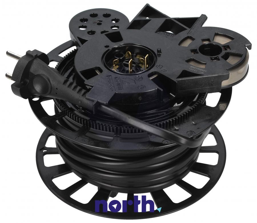 Zwijacz kabla z kablem zasilającym i wtyczką do odkurzacza Bosch 12005079,0