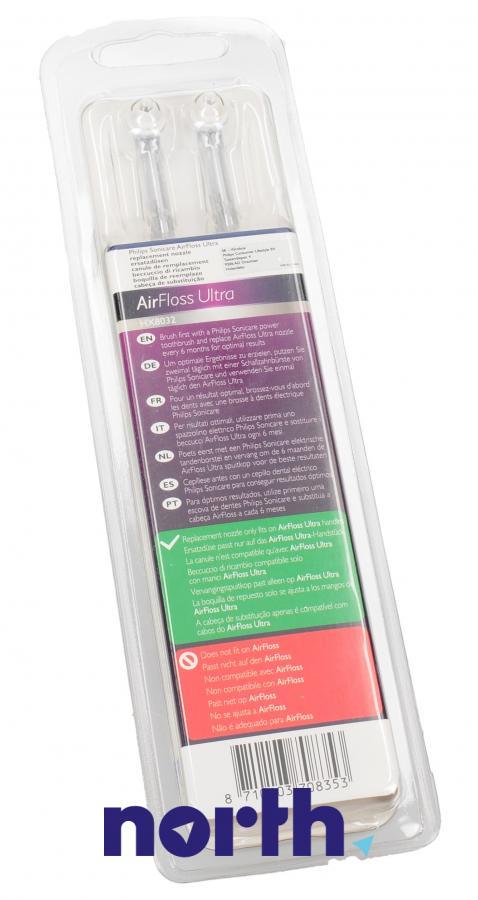 Końcówka AirFloss Ultra do irygatora Philips HX8032/07 HX803207,3