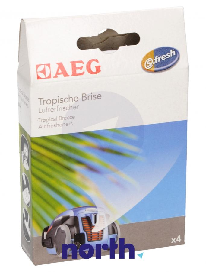 Wkład zapachowy egzotyczny 4szt. S.fresh ASCO 4 do odkurzacza,0