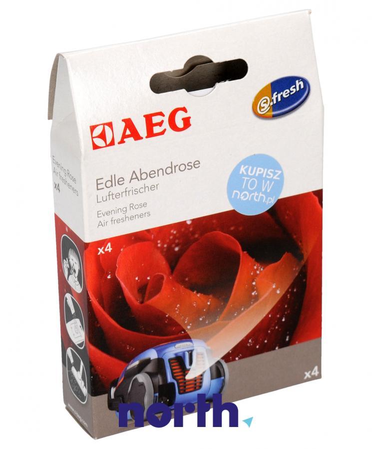Wkład zapachowy różany 4szt. S.fresh ASRO4 do odkurzacza,0