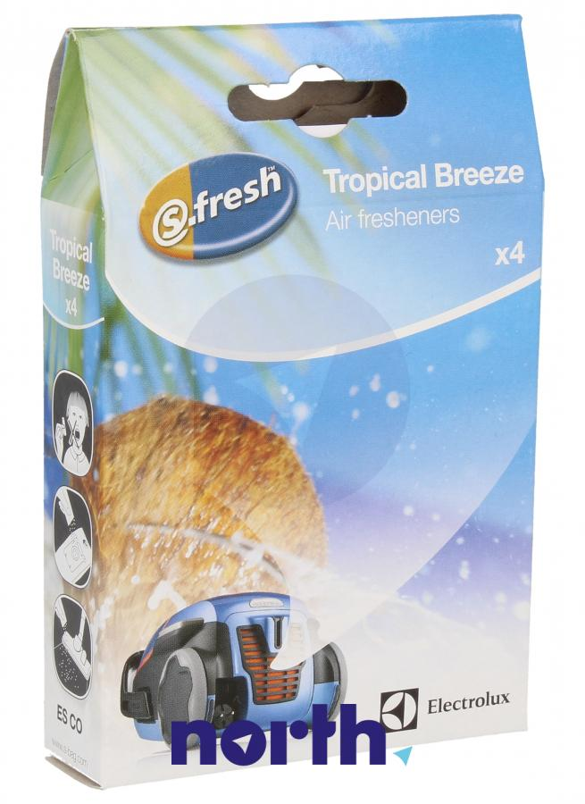 Wkład zapachowy kokosowy 4szt. S.fresh ESCO4 do odkurzacza,0