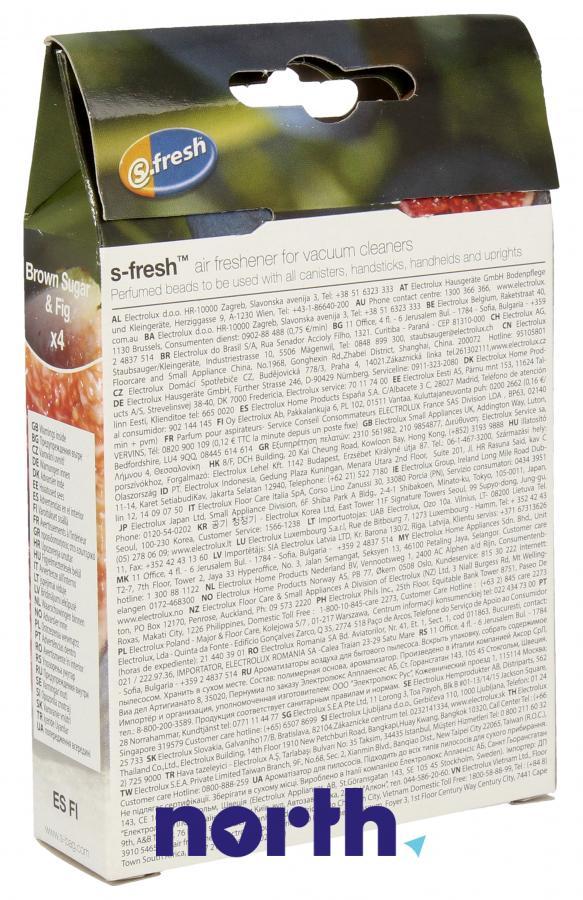 Wkład zapachowy figowy 4szt. S.fresh ESF1 do odkurzacza,1
