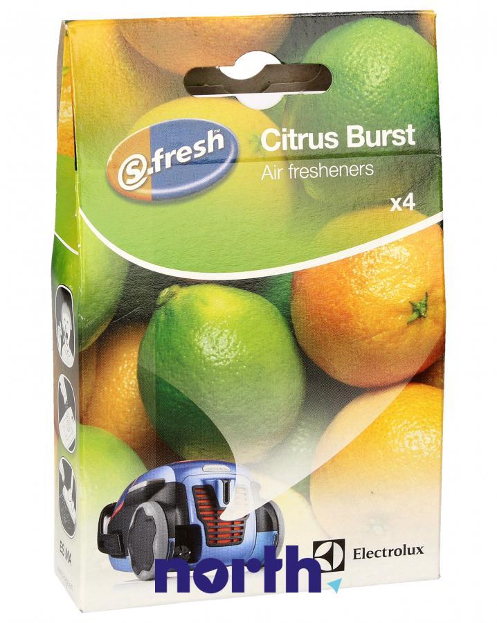 Wkład zapachowy cytrynowy 4szt. S.fresh ESMA4 do odkurzacza,0