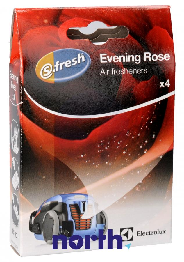 Wkład zapachowy różany 4szt. S.fresh ESRO4 do odkurzacza,0