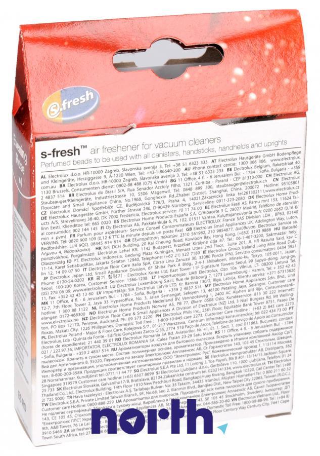 Wkład zapachowy różany 4szt. S.fresh ESRO4 do odkurzacza,1