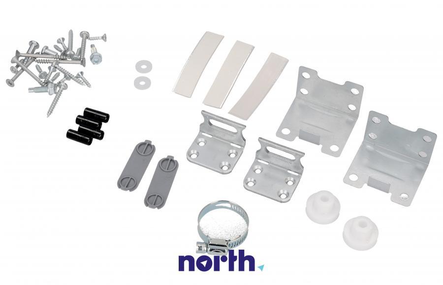 Zestaw montażowy drzwi pod zabudowę do zmywarki Electrolux 140003555061,0