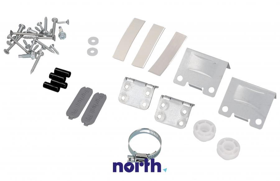 Zestaw montażowy drzwi pod zabudowę do zmywarki Electrolux 140003555061,1