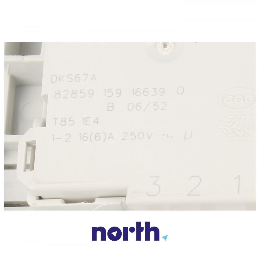 Blokada elektromagnetyczna otwarcia drzwi do pralki Bosch za 00637590, 00627046, 00623782,3