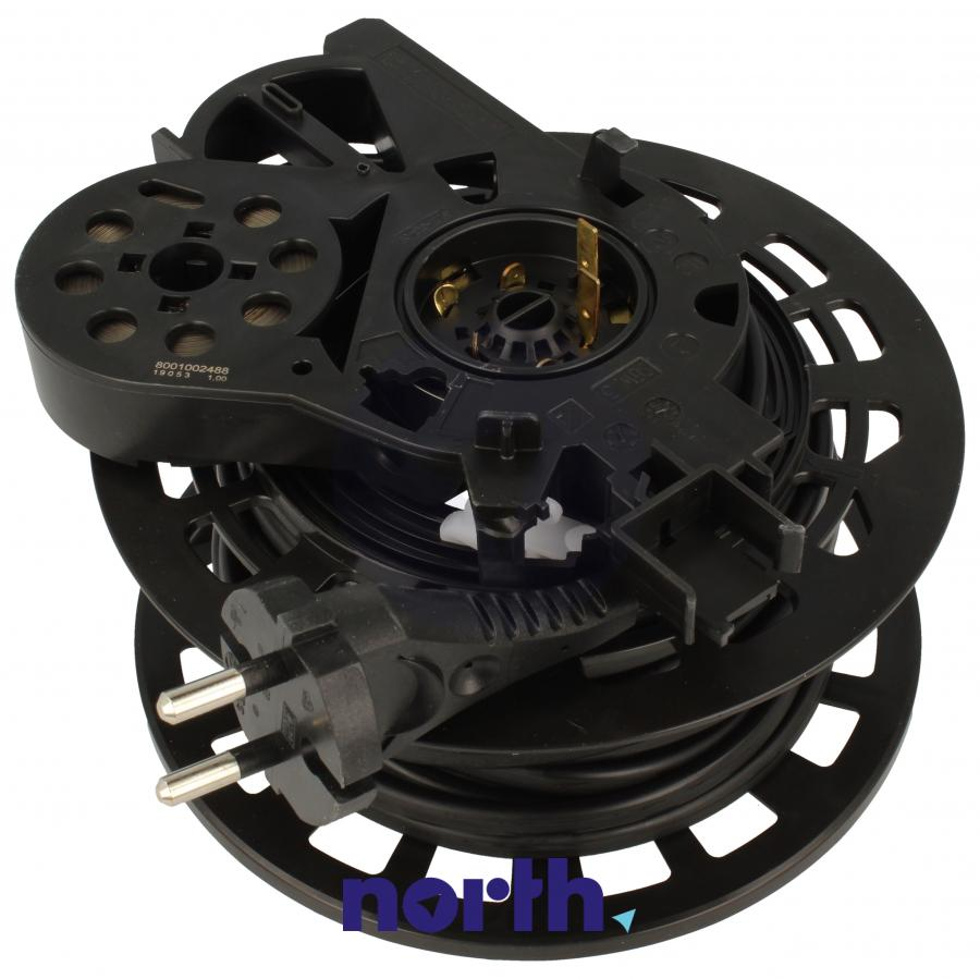 Zwijacz kabla z kablem zasilającym i wtyczką do odkurzacza Siemens 12005251,0