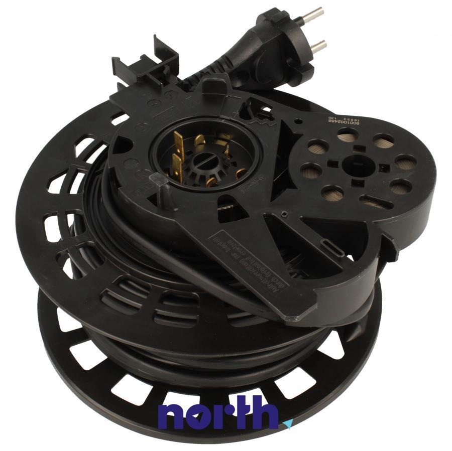 Zwijacz kabla z kablem zasilającym i wtyczką do odkurzacza Siemens 12005251,1